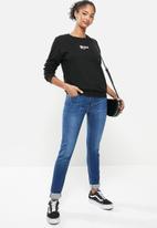 RVCA - Rvca cracked pullover crew - black