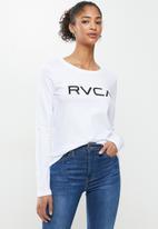 RVCA - Big rvca long sleeve tee - white