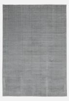 Sixth Floor - Silky micro polyester rug - grey