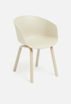 Sixth Floor - Bowl chair - stone
