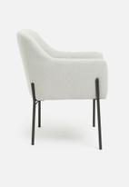 Sixth Floor - Exton occ chair -grey woven