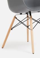 Sixth Floor - Bea chair - charcoal