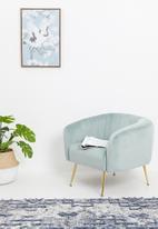 Sixth Floor - Eero occasional chair - blue grey