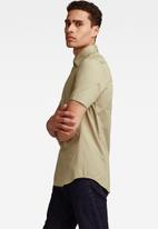 G-Star RAW - Dressed super slim short sleeve shirt - grege green