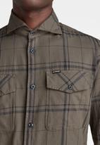 G-Star RAW - Marine service slim long sleeve shirt - dark grey