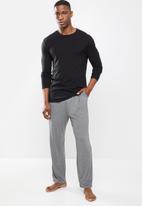 STYLE REPUBLIC - Core sleep pant - dark grey
