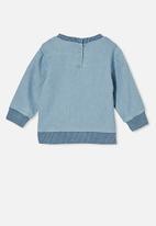 Cotton On - Billie sweater - light blue wash