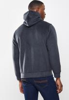 STYLE REPUBLIC - Sherpa lined hooded jacket - navy