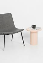 Sixth Floor - Lily side table - blush