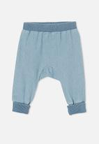 Cotton On - Charlie trackpant - light blue denim wash
