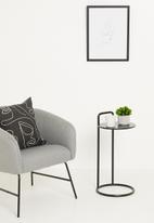 Sixth Floor - Paxton side table - black