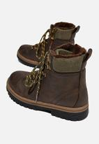 Cotton On - Crafted hiker boot - vintage brown