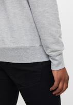 Original Penguin - Long sleeve sticker Pete fleece - rain heather
