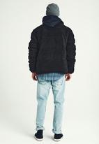 Cotton On - Teddy puffer - black