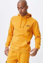 Cotton On - Graphic fleece pullover - yellow