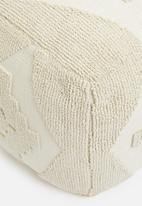 Sixth Floor - Bobble woven ottoman - cream