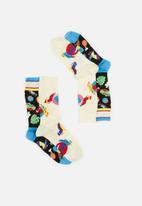 Happy Socks - 2-Pack circus socks gift set - multi