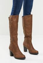 Butterfly Feet - June over the knee boot - tan