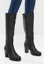 Butterfly Feet - June over the knee boot - black