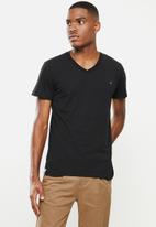 Replay - Replay 3 pack T-shirt V-neck - black