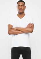 Replay - Replay 3 pack T-shirt V-neck - white