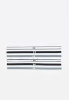 Under Armour - UA mini headbands 6 pack - multi
