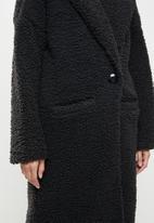 Me&B - The teddy coat - black