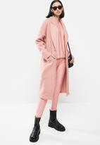 Me&B - Melton coat - pink