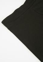 PUMA - Ess logo short tights - black