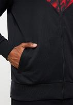 PUMA - ACM iconic MCS graphic track jacket - red & black