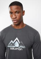 Salomon - Tip toe long sleeve tee - grey