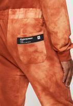 Flyersunion - Spectra-dye fleece jogger - orange