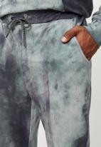 Flyersunion - Spectra-dye fleece jogger - charcoal