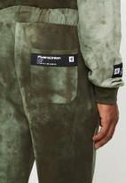 Flyersunion - Spectra-dye fleece jogger - olive