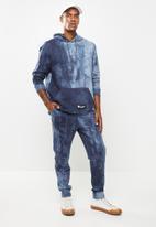 Flyersunion - Spectra-dye fleece jogger - navy