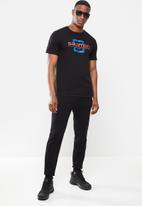 Salomon - Finish line short sleeve tee - black