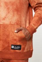 Flyersunion - Spectra-dye fleece hoodie - orange