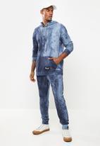 Flyersunion - Spectra-dye fleece hoodie - navy
