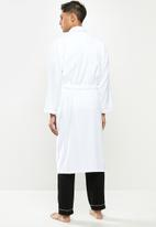 STYLE REPUBLIC - Towelling robe - white