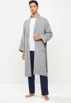 STYLE REPUBLIC - Towelling robe - grey