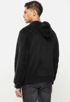 STYLE REPUBLIC - Sherpa hoodie - black