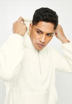 STYLE REPUBLIC - Sherpa hoodie - off white