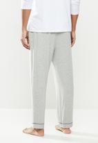 STYLE REPUBLIC - Hem detail sleep pant - light grey