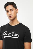 Aca Joe - Aca Joe T-shirt - black