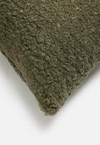 Hertex Fabrics - Shaun scatter cushion - aloe