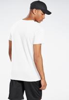 Reebok - Ts short sleeve tee - white