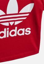 adidas Originals - Trefoil tee - red