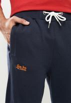 Aca Joe - Aca joe small logo jogger - navy