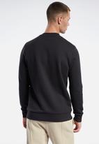 Reebok - Vector crew sweatshirt - black