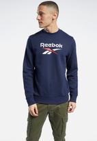Reebok - Vector crew sweatshirt - navy